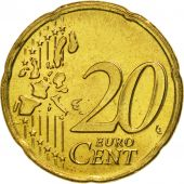 Netherlands, 20 Euro Cent, 2000, MS(65-70), Brass, KM:238