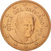 Cité du Vatican, 5 Euro Cent, 2010, FDC, Copper Plated Steel, KM:377