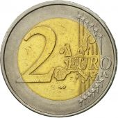 GERMANY - FEDERAL REPUBLIC, 2 Euro, 2002, AU(55-58), Bi-Metallic, KM:214