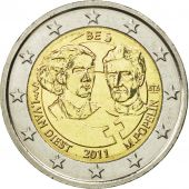 Belgium, 2 Euro, Rights of women, 2011, MS(64), Bi-Metallic, KM:308