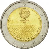 Portugal, 2 Euro, Human Rights, 2008, AU(55-58), Bi-Metallic, KM:784