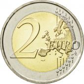 Italy, 2 Euro, Double Portrait, 2014, MS(63), Bi-Metallic, KM:217