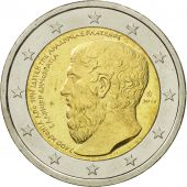 Greece, 2 Euro, Platon, 2013, MS(63), Bi-Metallic
