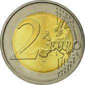 Portugal, 2 Euro, Traité de Rome 50 ans, 2007, MS(63), Bi-Metallic, KM:771