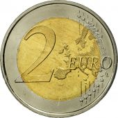 Spain, 2 Euro, Traité de Rome 50 ans, 2007, MS(63), Bi-Metallic, KM:1130