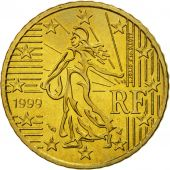 France, 50 Euro Cent, 1999, SPL, Laiton, KM:1287
