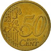 France, 50 Euro Cent, 2001, SUP, Laiton, KM:1287