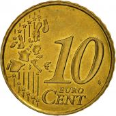France, 10 Euro Cent, 1999, SPL, Laiton, KM:1285