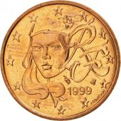 France, 5 Euro Cent, 1999, SPL, Copper Plated Steel, KM:1284