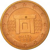 Malte, 2 Euro Cent, 2008, SUP, Copper Plated Steel, KM:126