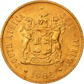 South Africa, 2 Cents, 1983, MS(65-70), Bronze, KM:83
