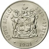 South Africa, 50 Cents, 1981, MS(65-70), Nickel, KM:87
