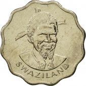 Swaziland, Sobhuza II, 5 Cents, 1979, British Royal Mint, FDC, Copper-nickel
