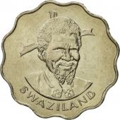 Swaziland, Sobhuza II, 20 Cents, 1979, British Royal Mint, FDC, Copper-nickel