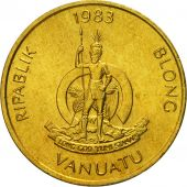 Vanuatu, Vatu, 1983, British Royal Mint, FDC, Nickel-brass, KM:3