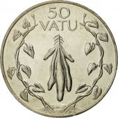 Vanuatu, 50 Vatu, 1983, British Royal Mint, FDC, Copper-nickel, KM:8