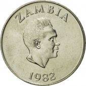 Zambia, 10 Ngwee, 1982, British Royal Mint, MS(65-70), Copper-Nickel-Zinc, KM:12