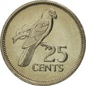 Seychelles, 25 Cents, 1982, British Royal Mint, MS(65-70), Copper-nickel