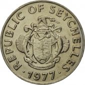 Seychelles, 50 Cents, 1977, British Royal Mint, MS(65-70), Copper-nickel, KM:34