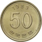 KOREA-SOUTH, 50 Won, 1983, FDC, Copper-Nickel-Zinc, KM:34