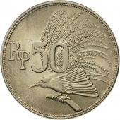 Indonesia, 50 Rupiah, 1971, MS(63), Copper-nickel, KM:35
