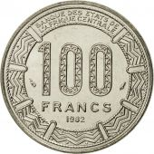 Chad, 100 Francs, 1982, FDC, Nickel, KM:3