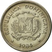 Dominican Republic, 5 Centavos, 1984, Dominican Republic Mint, Mexico City, FDC
