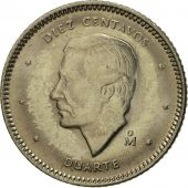 Dominican Republic, 10 Centavos, 1984, Dominican Republic Mint, Mexico City
