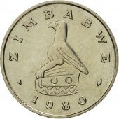 Zimbabwe, 5 Cents, 1980, MS(65-70), Copper-nickel, KM:2
