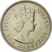 Mauritius, Elizabeth II, 1/2 Rupee, 1978, MS(65-70), Copper-nickel, KM:37.1