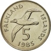 Falkland Islands, Elizabeth II, 5 Pence, 1985, FDC, Copper-nickel, KM:4.1