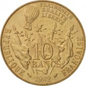 France, Gambetta, 10 Francs, 1982, Paris, SPL, Nickel-Bronze, KM:950