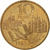 France, Stendhal, 10 Francs, 1983, Paris, SPL, Nickel-Bronze, KM:953