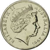 Australia, Elizabeth II, 10 Cents, 2005, MS(65-70), Copper-nickel, KM:402