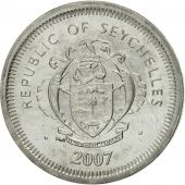 Seychelles, 25 Cents, 2007, Pobjoy Mint, MS(65-70), Nickel Clad Steel, KM:49a