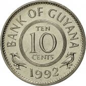 Guyana, 10 Cents, 1992, FDC, Copper-nickel, KM:33
