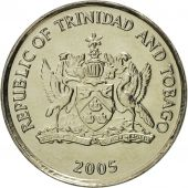 TRINIDAD & TOBAGO, 10 Cents, 2005, Franklin Mint, MS(65-70), Copper-nickel