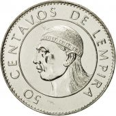 Honduras, 50 Centavos, 1991, FDC, Nickel plated steel, KM:84a.1