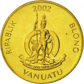 Vanuatu, Vatu, 2002, British Royal Mint, FDC, Nickel-brass, KM:3