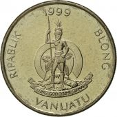 Vanuatu, 10 Vatu, 1999, British Royal Mint, FDC, Copper-nickel, KM:6