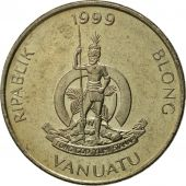 Vanuatu, 20 Vatu, 1999, British Royal Mint, FDC, Copper-nickel, KM:7