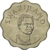Swaziland, King Msawati III, 20 Cents, 1998, British Royal Mint, FDC