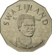 Swaziland, King Msawati III, 50 Cents, 1996, British Royal Mint, FDC