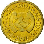 Mozambique, 20 Centavos, 2006, FDC, Brass plated steel, KM:135
