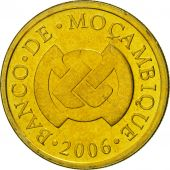 Mozambique, 50 Centavos, 2006, FDC, Brass plated steel, KM:136