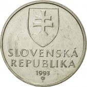 Slovaquie, 5 Koruna, 1993, FDC, Nickel plated steel, KM:14