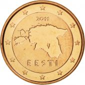 Estonia, Euro Cent, 2011, FDC, Copper Plated Steel, KM:61