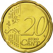 Estonia, 20 Euro Cent, 2011, MS(65-70), Brass, KM:65