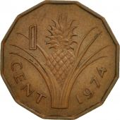 Swaziland, Sobhuza II, Cent, 1974, British Royal Mint, TTB+, Bronze, KM:7