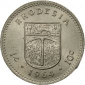 Rhodésie, Elizabeth II, Shilling = 10 Cents, 1964, British Royal Mint, SPL